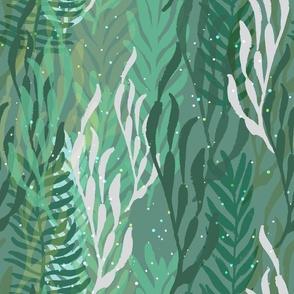 Underwater Forest  {Sea Foam}