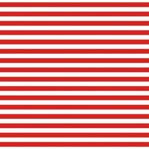 bright red stripes 0.3inch