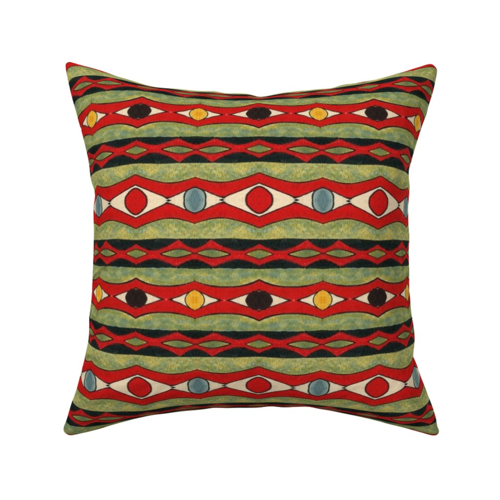 Catalan Throw Pillow featuring Amazonas 126 by hypersphere