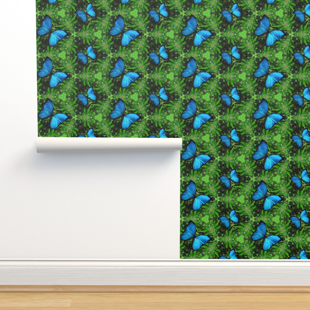 Isobar Durable Wallpaper featuring Emerald Forest by snaphappyscientist
