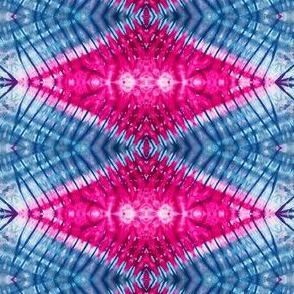 Pink Rippled Diamonds