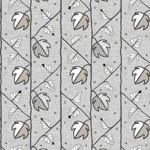 Hop linen Block Print