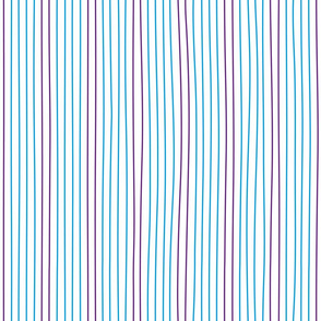 blue and violet vertical lines
