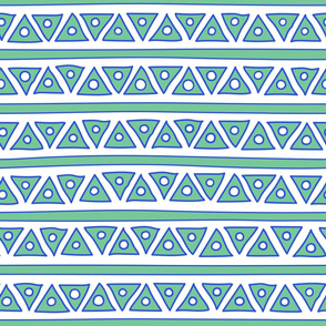 ethnic lines and fancy triangles
