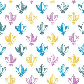 colorful heraldic pattern
