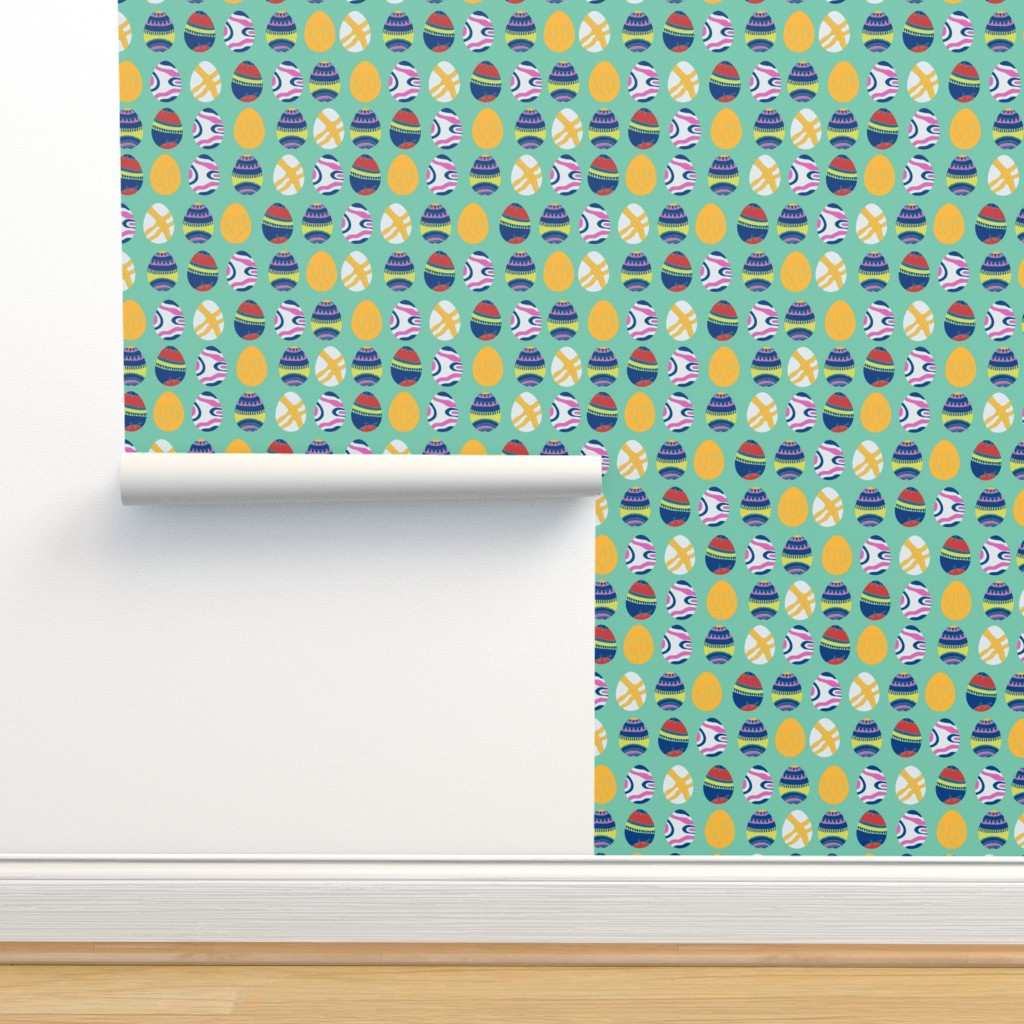Isobar Durable Wallpaper featuring Happy Easter by leffka