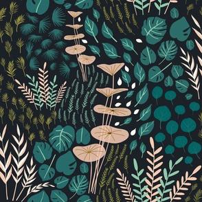 Emerald forest-autumn