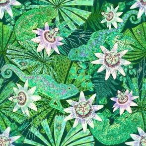 Emerald Canopy for Emerald Chameleon