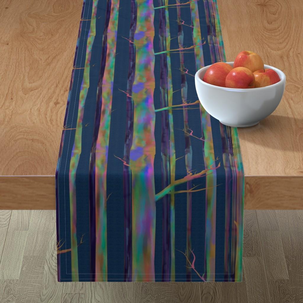 Minorca Table Runner featuring Rainbow Eucalyptus of Hawaii by stasiajahadi