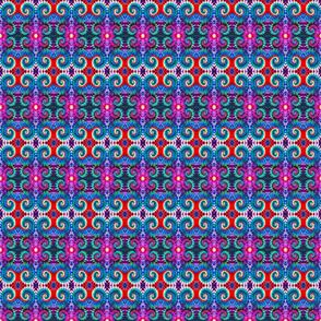 Rows of Swirls