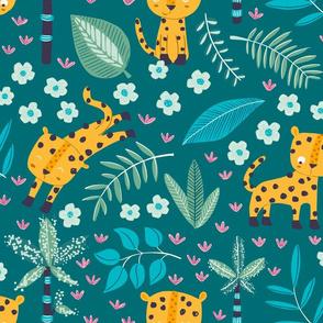 Cheetah Emerald jungle