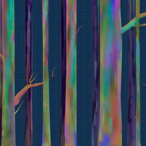 Rainbow Eucalyptus larger print
