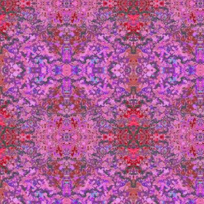 Psychedelic Red and Pink Ellipse