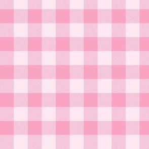 """3/4"""" Pink Buffalo Plaid – Lumberjack Buffalo Check"""