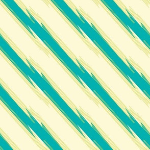 Jolly Green Jellyfish Collection - Stripe
