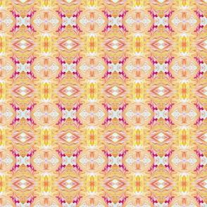 Orange and Pink Swirl