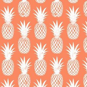 pineapples on sherbet