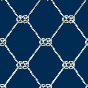 Square Knot - Fishnet Pattern
