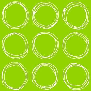 Circles (lime)