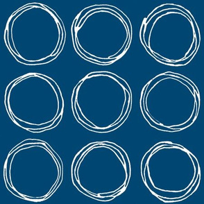 Circles (navy)