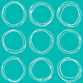 Circles (aqua)