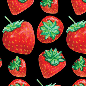 strawberries-on black-01