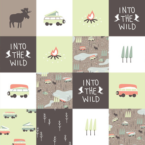 Into the Wild - Cheater Quilt