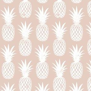 pineapples on blush