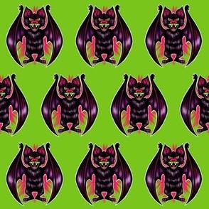 Vintage Bat (green)