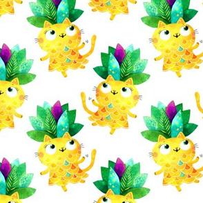 Pineapple cat