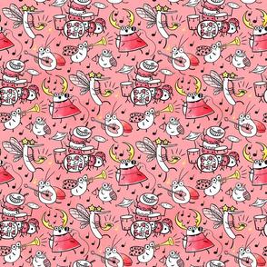 Bugs band pink
