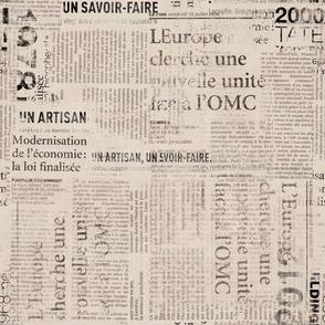 Grunge Newspaper Texture