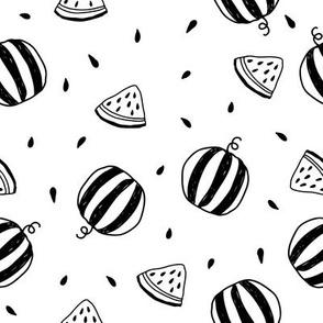 watermelon cute doodles