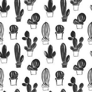 gouache cactus small