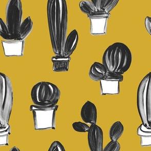 gouache cactus