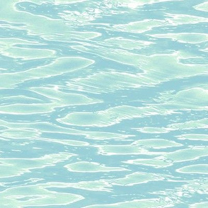 pale rippling water - extra large