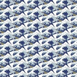 "the itty bitty waves of Hokusai (3"")"