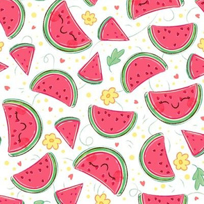 Watermelon Pattern - Smaller Print