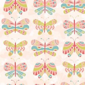 Butterflies in a light land