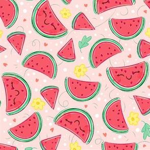 Watermelon Pattern- Medium Print