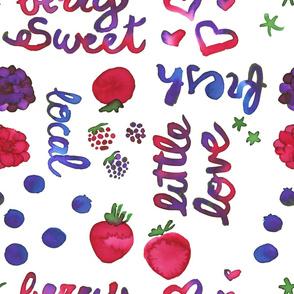 Berry Sweet (white)