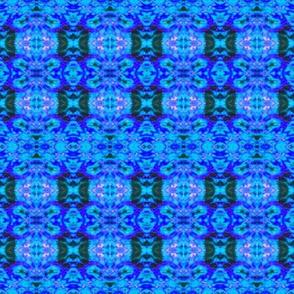 Blue Splash Stripes