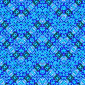 Zigzag Blue Splash