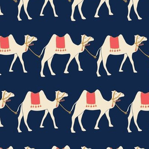 Train of Camels - Navy