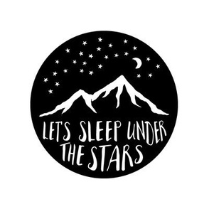 8 inch quilt blocks - Let's sleep under the stars