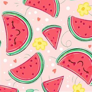 Watermelon Pattern - Larger Print