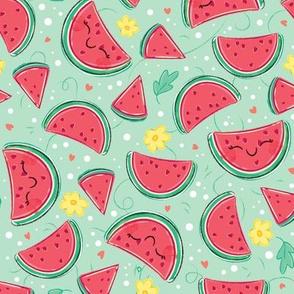 Watermelon Pattern- Smaller Print