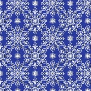 round floral mandala Indian motifs
