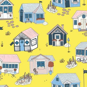 Swedish Summer Cottages