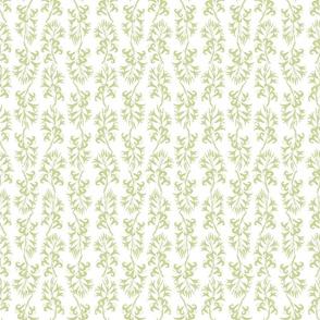 Minoan Lilies Dune Grass on White 300